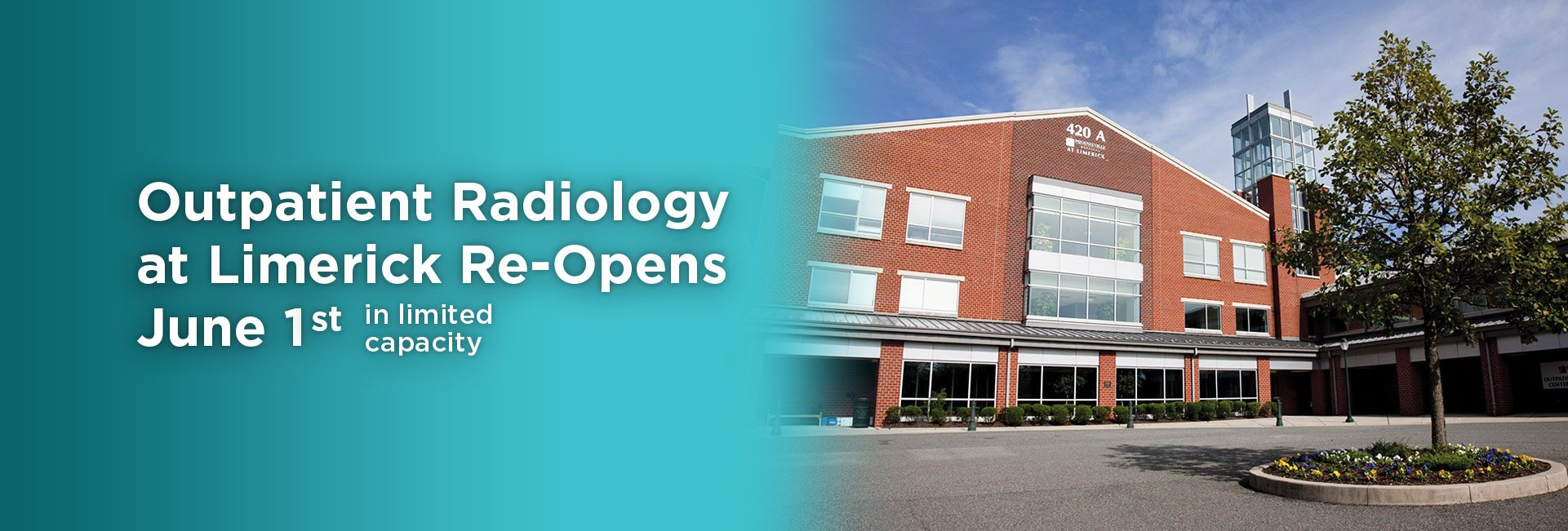 Radiology Reopening