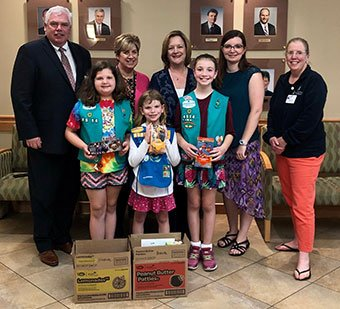 Girl Scout Cookie Donation
