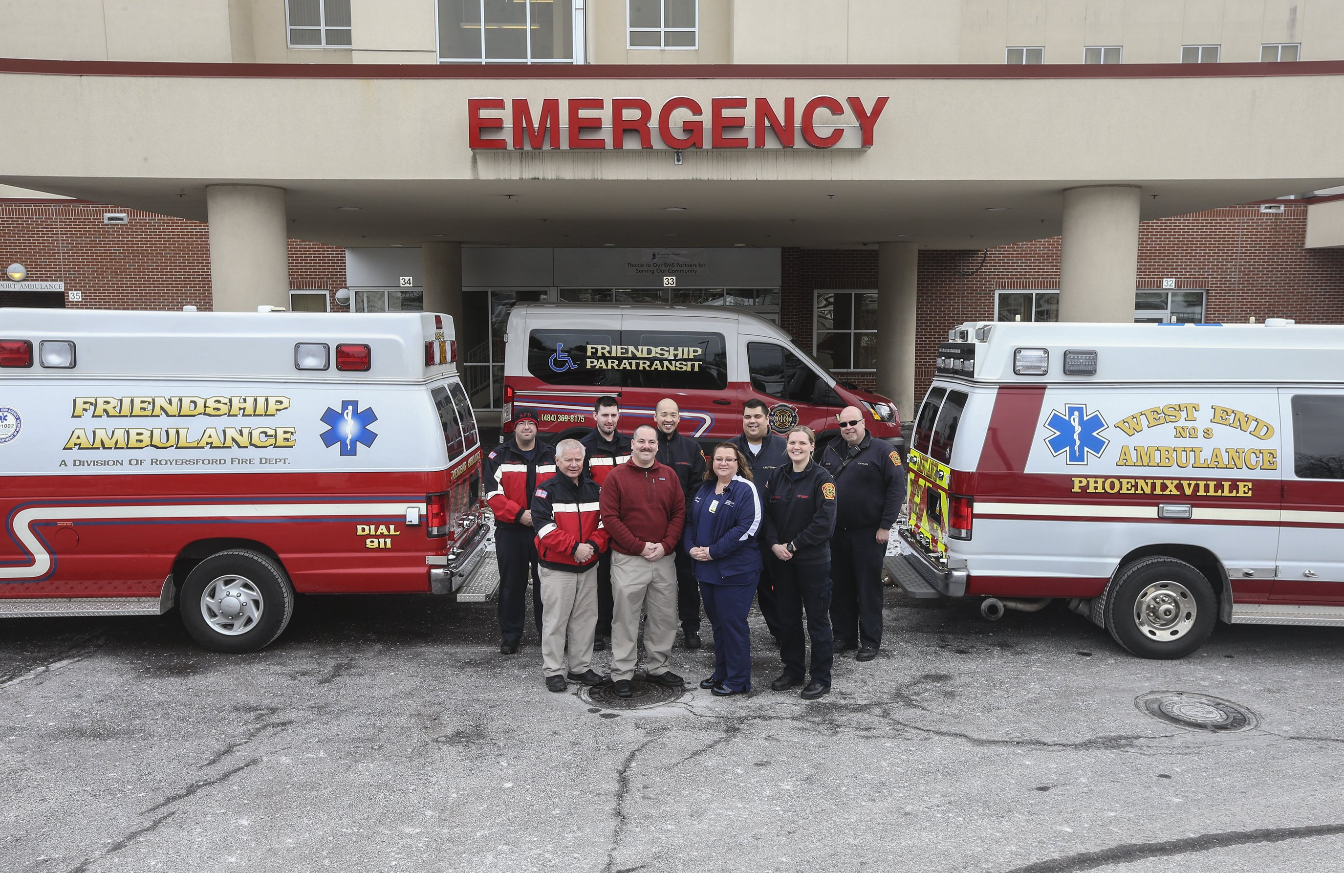 Phoenixville Hospital Partners with Local Ambulance Organizations for Patient Transport Needs